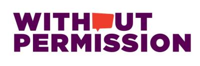 Without Permission Logo